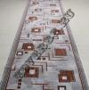 Паласная дорожка Кубик 970 серый